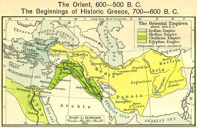 Countries Of The Orient